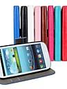 сумасшедший лошадь кожаный бумажник флип чехол с держателем карты и стоять функция для Samsung i9300 s3