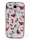2-in-1 Peony Pattern TPU Back Cover with PC Bumper Shockproof Soft Case for Samsung S4 I9500