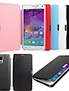 KARZEA® Flip Case Cover Magnetic PU Leather Slim Case with Stylus for Samsung Galaxy Note4 N9100(Assorted Color)