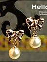 Earring Drop Earrings Jewelry Women Wedding / Party / Daily / Casual / Sports Pearl / Alloy