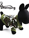 Cat / Dog Hoodie Green Spring/Fall Camouflage