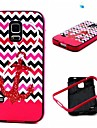 For Samsung Galaxy Case Shockproof / Pattern Case Back Cover Case Anchor TPU Samsung S5