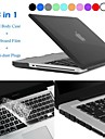 "Hat-Prince 3 in 1 Protective Case with TPU Keyboard Film and Anti-dust Plugs for MacBook Pro 13.3"" / 15.4"""