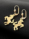 Earring Drop Earrings Jewelry Wedding / Party / Daily / Casual / Sports Gold Plated Gold
