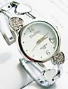 Women\'s Round Dial Alloy Band Quartz Bracelet Watch (Assorted Colors)