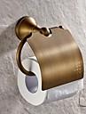 Держатель для туалетной бумаги Античная латунь Крепление на стену 130*119mm(5.11*4.68inch) Медь Античный
