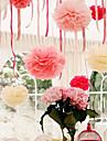 4-дюймовый папиросной бумаги пом Англичане свадьба декор крафт-бумаги цветы свадьба (набор из 4)