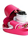 Dengpin® Retro PU Leather Detachable Camera Protective Case for Samsung NX3000 with 16-50mm or 20-50mm Lens