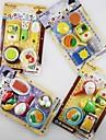 посуда в форме ластик комплект (случайный цвет)