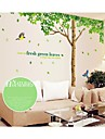 Botanical / Christmas / Cartoon / Florals / Landscape Wall Stickers Plane Wall Stickers Decorative Wall Stickers,# Material RemovableHome