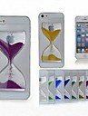 toophone® joyland 시간 결정 LUCENCY의 무덤 모래 시계 다시 아이폰 6 (모듬 된 색상)에 대한 커버 케이스
