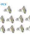 Focos LED GU4(MR11) 4W 9 SMD 5730 430 LM Blanco Calido / Blanco Fresco DC 12 V