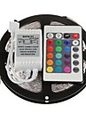 ZDM ™ 5m 300x3528 SMD RGB LED strip licht met 24key afstandsbediening (12V)