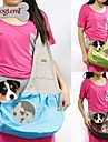 Cat / Dog Carrier & Travel Backpack / Sling Bag Pet Baskets Portable / Breathable Green / Blue / Brown / Pink Fabric