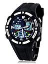 Skmei ® hombres deportes multifuncion de golpes Zona Dual Time reloj de pulsera 30m impermeables colores surtidos