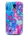 Beautiful Tattoo Mandala Flower Pattern Hard Case Cover for Samsung Galaxy S4 mini I9190