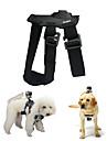 Kingma harnais de chien poitrine chercher camera monture de dragonne pour GoPro Hero 4/2/3 / 3+ / sj4000 -black