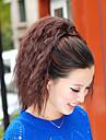 High Quality Fashion Beautiful Brown Tiger Hot Corn Clip Ponytail