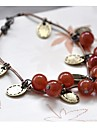 Retro Sweet Cherry Glass Beads Bracelet