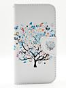 Pour Coque LG Porte Carte Portefeuille Avec Support Clapet Coque Coque Integrale Coque Arbre Dur Cuir PU pour LG LG G3