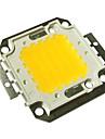jiawen® 50w 4000-4500lm 3000k branco quente levou chip (dc 30-33v)