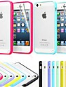 TPU Bumper Frosted Back Case for iPhone 5/5S(Assorted Colors)