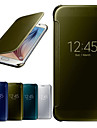 janela espelho ginasio de luxo caso de corpo inteiro para g9200 Samsung Galaxy S6
