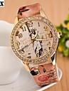 damesmode diamant aantal quartz analoog ketting horloge (verschillende kleuren)