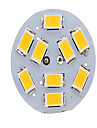 1 Stueck dingyao LED Doppel-Pin Leuchten G4 2W 180-400 LM 2800-3500/6000-6500 K 9LED SMD 5730 Warmes Weiss / Kuehles Weiss AC 12 V