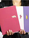 Candy Marine Animal Cute/Business Metal/Paper Creative Notebooks (Random Colors)