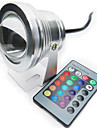 10W RGB Full color IP68 Waterproof Understand LED Lamp spotlight pool light (12V)