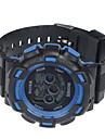 occasionnel montre de sport de silicone numerique des hommes (couleurs assorties)