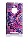 Pour Coque Nokia Motif Coque Coque Arriere Coque Fleur Dur Polycarbonate pour Nokia Nokia Lumia 830