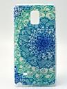 Para Samsung Galaxy Note Estampada Capinha Capa Traseira Capinha Mandala TPU Samsung Note 4