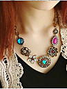 Necklace Statement Necklaces Jewelry Wedding / Party / Daily / Casual Fashion Alloy Coppery 1pc Gift