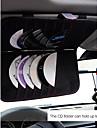 Интерьер автомобиля с затенения борту нескольких кд козырек-12П автомобиля стиль