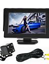 renepai® 4,3 дюймовый монитор + 170 ° HD заднего вида автомобиля камера + высокой четкости широкоугольный Водонепроницаемая камера CMOS
