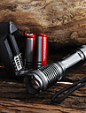 LED Flashlights/Torch / Handheld Flashlights/Torch LED 5 Mode 2000 Lumens Adjustable Focus / Waterproof Cree XM-L T6 18650 / AAA