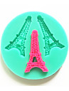 посуда силиконовые Эйфелева башня выпечки формы для помады конфеты шоколадный торт