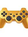 Trådlös DualShock 3-handkontroll till PS3/Sony Playstation 3 (guldfärgad)