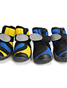 Dog / Cat Socks & Boots & Sneakers Blue / Yellow Spring/Fall Waterproof