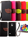 High Quality Wallet Card Holder PU Leather Flip Case Cover for Samsung Galaxy S5 Mini/S4 Mini/S3 Mini