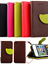 High Quality Wallet Card Holder PU Leather Flip Case Cover for iPhone 4/4S
