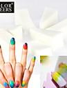 10PCS Profissional Manicure Esponja Ferramentas Art Nail para Gradient Cor Nail Art & Mulit cores prego
