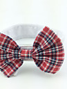 Gatos / Caes Gravata/Gravata Borboleta Vermelho Roupas para Caes Primavera/Outono Casamento