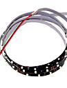 SENCART 1.2 M 90 3528 SMD Blanc Decoupable/Intensite Reglable/Connectible/Pour Vehicules/Auto-Adhesives 5 WBandes Lumineuses LED