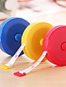 tipo retractil plastico cinta metrica (colores aleatorios)