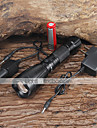 2200LM  CREE XM-L T6 LED Rechargeable Flashlight Torch Battery Charger