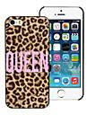 Queen Design Aluminum Hard Case for iPhone 5/5S