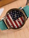 Hombre / Mujer / Unisex Reloj de Moda Cuarzo PU Banda Marca-